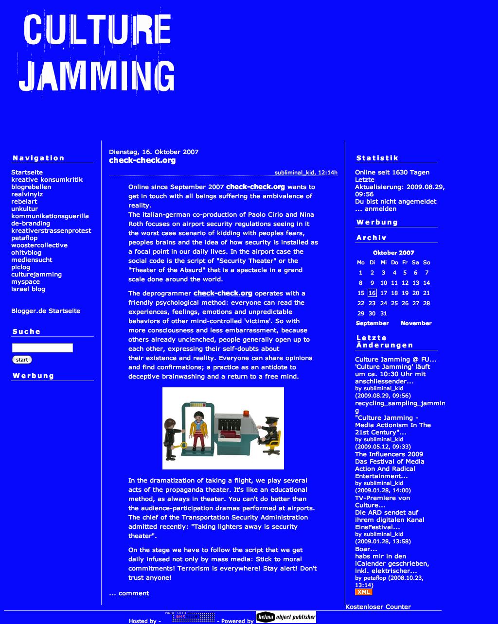 Culture jamming essay